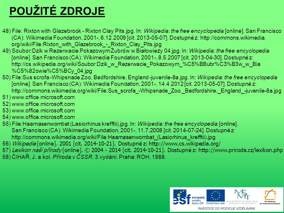 POUŽITÉ ZDROJE 48) File: Rixton with Glazebrook - Rixton Clay Pits.jpg. In: Wikipedia: the free encyclopedia [online]. San Francisco.